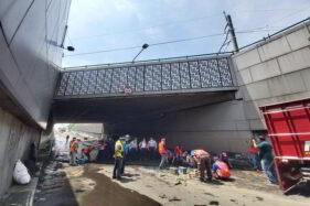 Jalan Slamet Riyadi Solo Padat Akibat Underpass Makamhaji Ditutup, Pengguna Jalan Disarankan Pakai Motor