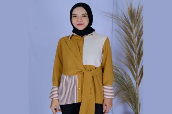 Salah satu produk Suqma, brand busana muslim produksi Sritex. (Istimewa/tokosritex.com)