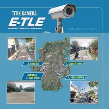 Titik kamera ETLE di Kota Madiun. (Istimewa/Pemkot Madiun)