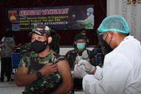 Dibilang Tak Halal, Vaksin Astra Zeneca untuk Prajurit TNI Semarang