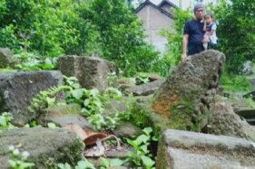 Warga Dompoyongan Klaten Kumpulkan Ratusan Batu Candi