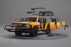 Tak Mau Kalah dengan Jeep, Ford Bronco Kini Makin Mudah Dimodifikasi