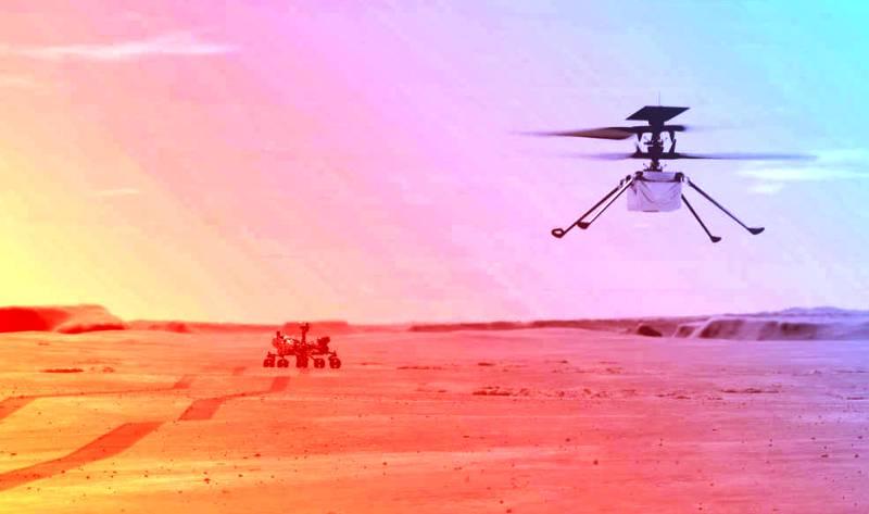 Ingenuity, Helikopter Milik NASA Mulai Penerbangan Penjelajahan di Mars