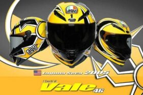 Ingin Helm Replika Helm AGV Valentino Rossi? Siapkan Rp27 Juta