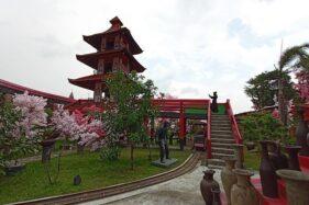 Waduk Cengklik Park Boyolali Dibuka, Ada Kampung Sakura di Dalamnya