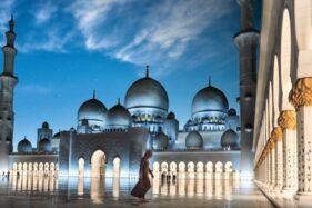 Foto-Foto Kemegahan Sheikh Zayed Grand Mosque Abu Dhabi, Masjid Di Gilingan Solo Akan Seperti Ini?