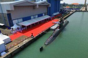 TNI AL Terima Alugoro 405, Kapal Selam Pertama Buatan Indonesia