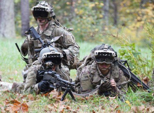 Kacamata IVAS 1/US Army