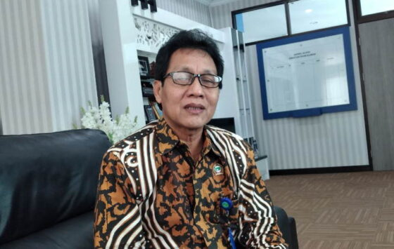 Direktur PDAM Sleman Dwi Nurwata. (Harian Jogja/Abdul Hamid Razak)