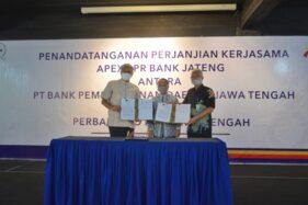 Bank Jateng dan Perbarindo Jateng Tanda Tangani Kerja Sama Apex BPR