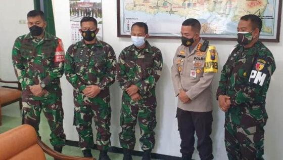 Kapolresta Malang Kota Kombes Pol Leonardus menyampaikan permohonan maaf kepada Kolonel (Chb) I Wayan Sudarsana . (Istimewa)