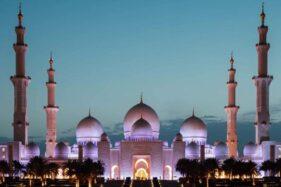 Miniaturnya Dibangun Di Gilingan Solo, Begini Wujud Asli Masjid Agung Sheikh Zayed Abu Dhabi
