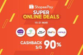 ShopeePay Super Online Deals, Banjir Promo Sekaligus Produktif dan Kreatif Selama di Rumah