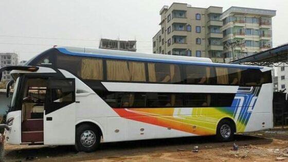 Sleeper bus yang dijiplak di Bangladesh/Instagram/@buscampindonesia