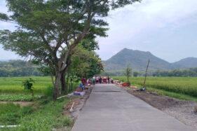 TMMD di Klaten Bangun Jalan Pintas Penghubung Tiga Kabupaten