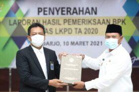 Selamat! Kota Madiun Terima WTP, Penyerahan LKPD Anggaran 2020 Tercepat Se-Jatim