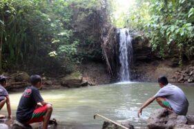 Mengintip Pesona Air Terjun Batu Pengantin di Krikilan Sragen, Masih Perawan Lho