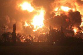Kebocoran Tangki Diduga Jadi Penyebab Kebakaran Hebat di Kilang Pertamina Balongan