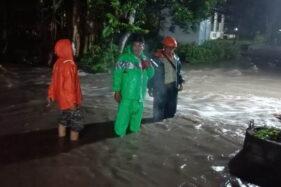 Gara-Gara Saluran Air Tersumbat, Puluhan Rumah di Madiun Kebanjiran