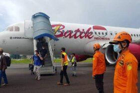 Pesawat Batik Air Mendarat Darurat di Kualanamu Sumut, Begini Kesaksian Penumpang