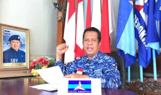 Ketua DPC Partai Demokrat Kota Solo, Supriyanto. (Istimewa-tangkapan layar)