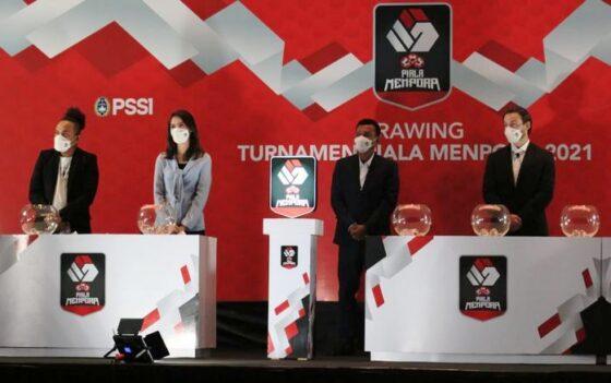 Drawing Piala Menpora/Detiksport