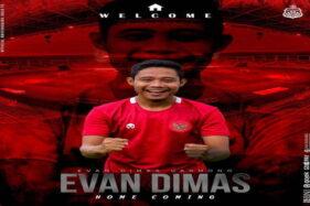 Evan Dimas Resmi Bergabung, Bhayangkara Solo FC Punya Duo Metronom Dahsyat