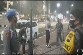 Nekat Kopdar di Flyover Purwosari Solo, Puluhan Pemotor Dibubarkan Polisi