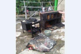 Korsleting Saat Ngecas Baterai Sepeda Listrik, Rumah Warga Weru Sukoharjo Terbakar