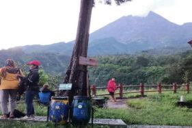 Gunung Merapi 7 Kali Luncurkan Awan Panas hingga 1.800 Meter ke Barat Daya