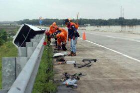 3 Truk Kecelakaan Karambol di Tol Sragen, 3 Orang Meninggal, 1 Luka-luka