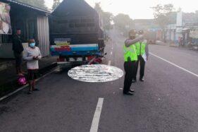 Tabrak Truk Parkir di Ngadirojo Wonogiri, Pengendara Motor Meninggal