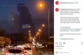 Viral Awan Seperti Orang Berdoa di Langit Semarang, Ini Penampakannya