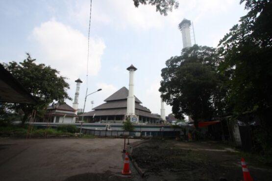 masjid taman sriwedari solo dana