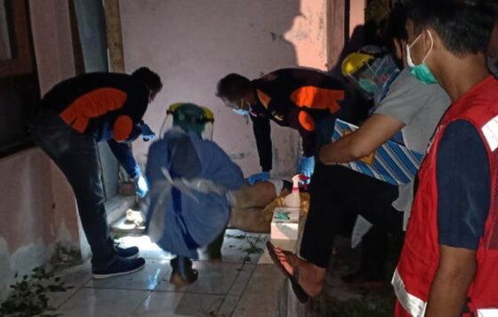 Sesosok mayat perempuan muda ditemukan tergeletak di lantai Wisma Sermo yang terletak di Padukuhan Kedungtangkil, Kalurahan Karangsari, Kapanewon Pengasih, Kulonprogo, Selasa (23/3/2021) sore. (Istimewa/Polres Kulonprogo)