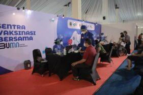 Dukung Vaksinasi Bersama di PRPP Semarang, PLN Jaga Keandalan Pasokan