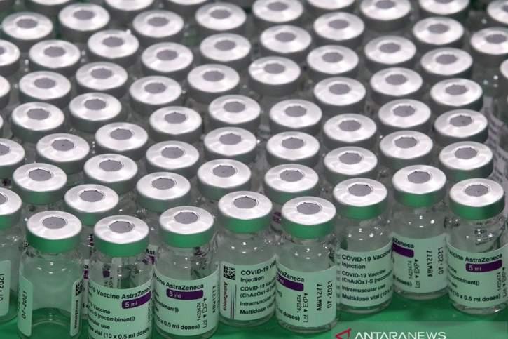Vaksin Astra Zeneca. (Antara)