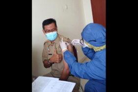 4 Sekolah Sukoharjo Uji Coba PTM, Guru-Guru Jalani Vaksinasi Covid-19