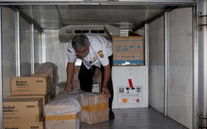 Sragen Dapat 12.000 Dosis Vaksin Covid-19 Lagi, untuk TNI 200 Dosis, Polri 800 Dosis