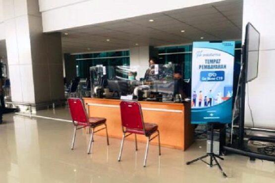 Ilustrasi layanan Genose C19 di Bandara Internasional Yogyakarta atau YIA. (Semarangpos.com-Humas PT AP I Bandara Ahmad Yani Semarang)