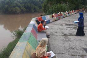 Outdoor Learning, Oase Bagi Siswa Madiun di Tengah Kebosanan Belajar Daring