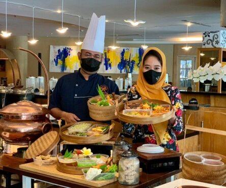 """Paket hantaran, """"Ramadhan House"""" dari The Sunan untuk berbuka bersama keluarga di rumah. (Istimewa)"""