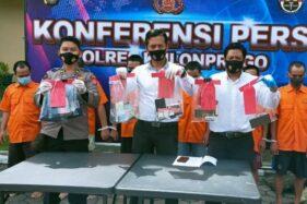 Terlibat Narkoba, Tiga Karyawan Cafe di Kulonprogo Diringkus Polisi