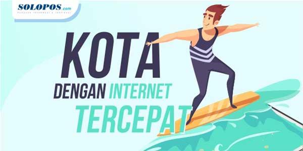 Wusss! Berikut Deretan Kota di Indonesia yang Punya Internet Cepat
