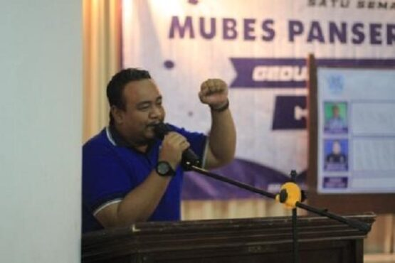 Ketua Umum Panser Biru, Galih Eko Putranto atau yang karib disapa Galih Ndog. (Semarangpos.com-MO PSIS Semarang)