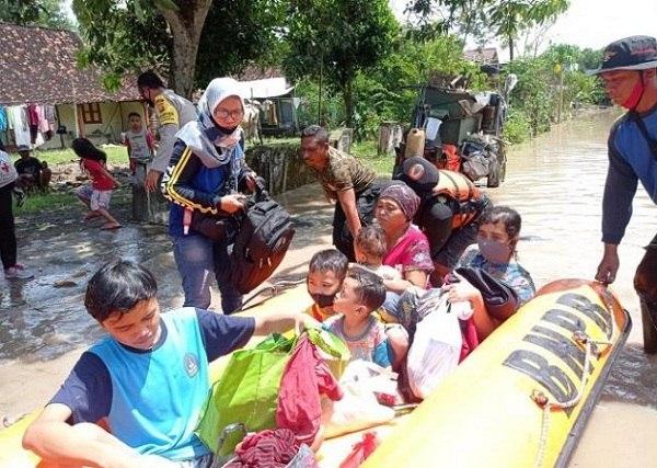 Hujan 8 Jam, 150 Rumah di 24 Desa di Madiun Terdampak Banjir