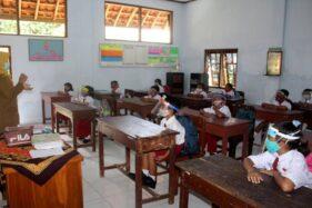 Uji Coba PTM TK Dihentikan, Ujian SD-SMP di Sragen Bisa Luring atau Daring