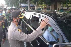 Tiga Hari Penyekatan di Prambanan Klaten , 105 Kendaraan Dipaksa Putar Balik