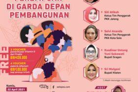 Menteri Sosial hingga Bupati Sragen dan Klaten Satu Panggung Virtual di Talkshow Hari Kartini Besok