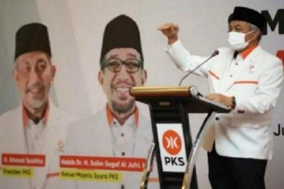 Presiden Partai Keadilan Sejahtera (PKS) Ahmad Syaikhu. (Antara)